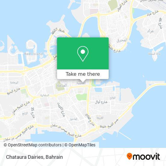 Chataura Dairies map