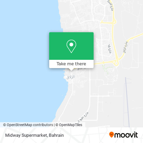 Midway Supermarket map