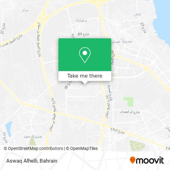 Aswaq Alhelli map