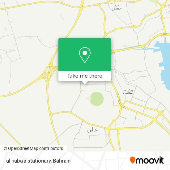 al naba'a stationary map