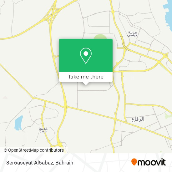 8er6aseyat Al5abaz map