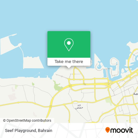 Seef Playground map