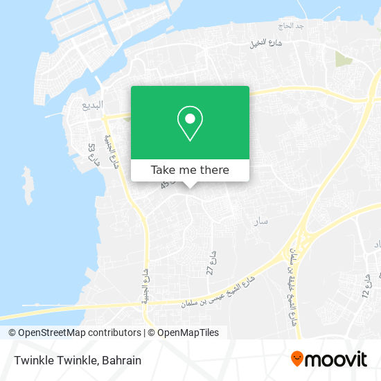 Twinkle Twinkle map