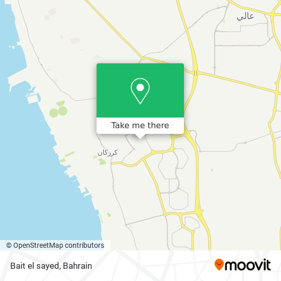Bait el sayed map