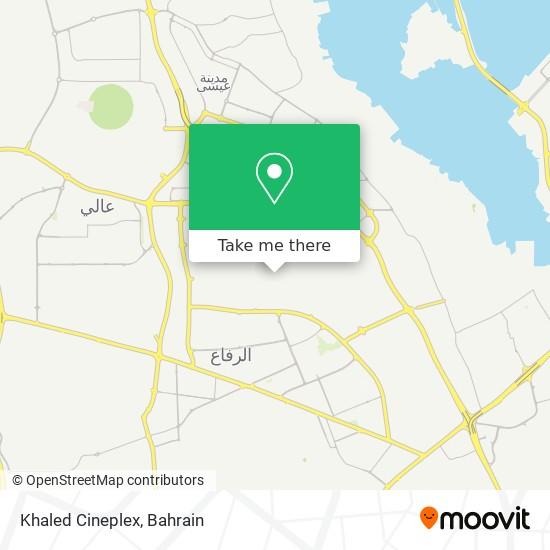 Khaled Cineplex map