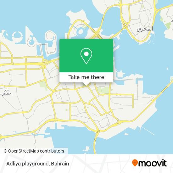 Adliya playground map