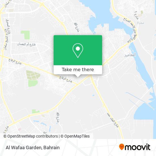 Al Wafaa Garden map