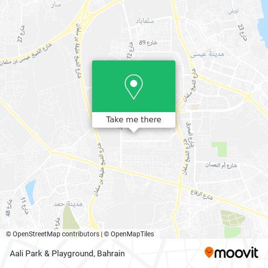 Aali Park & Playground map