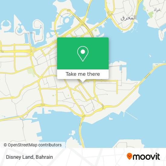 Disney Land map