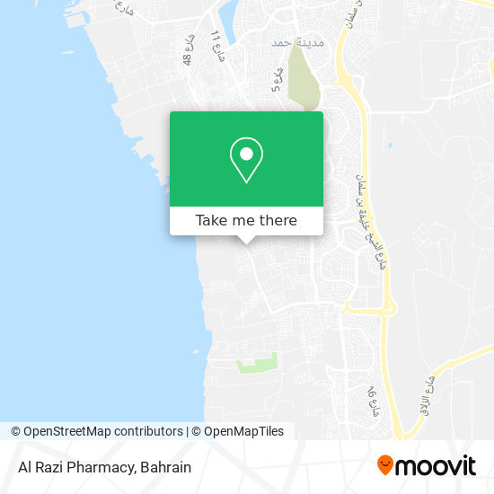 Al Razi Pharmacy map