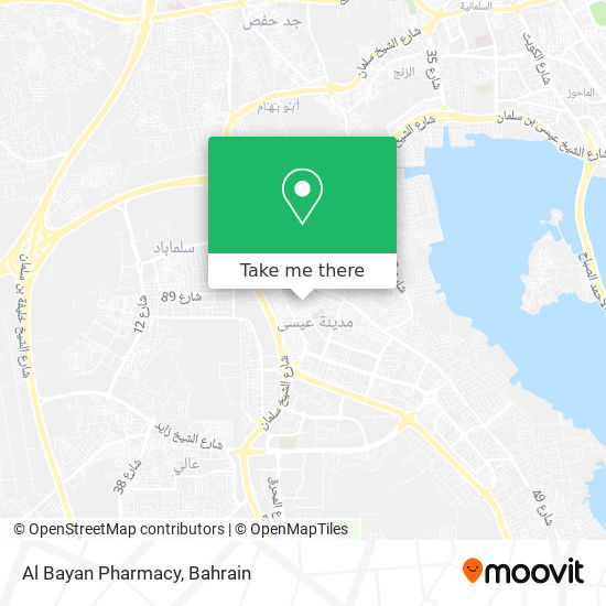 Al Bayan Pharmacy map