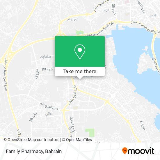 Family Pharmacy map