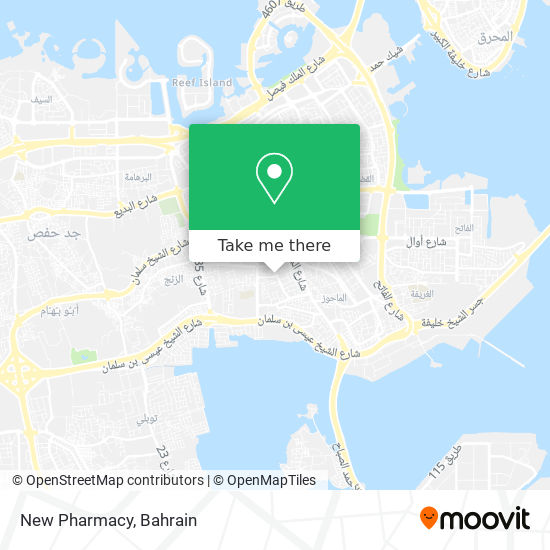 New Pharmacy map