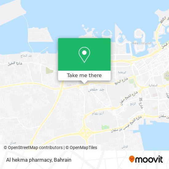 Al hekma pharmacy map