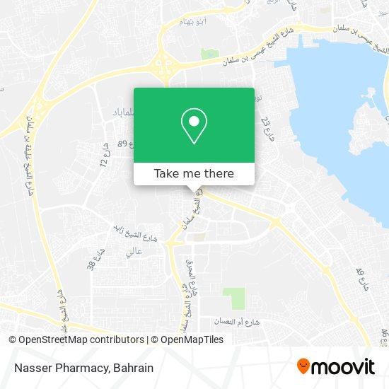 Nasser Pharmacy map