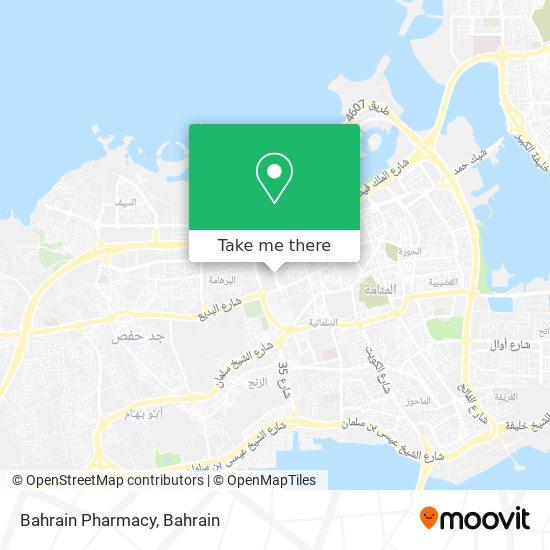 Bahrain Pharmacy map