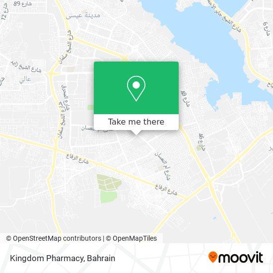 Kingdom Pharmacy map