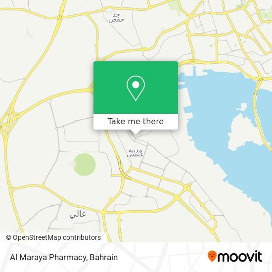 Al Maraya Pharmacy map