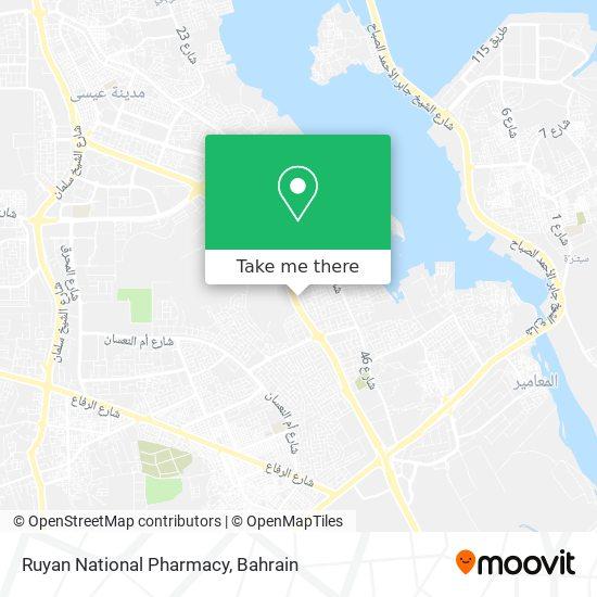 Ruyan National Pharmacy map