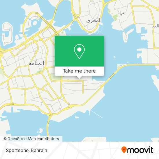Sportsone map