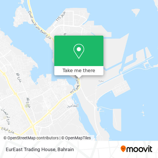 EurEast Trading House map