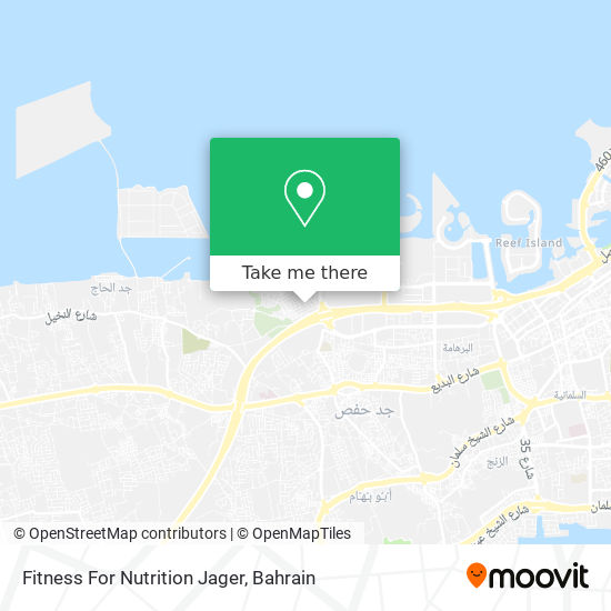 Fitness For Nutrition Jager map