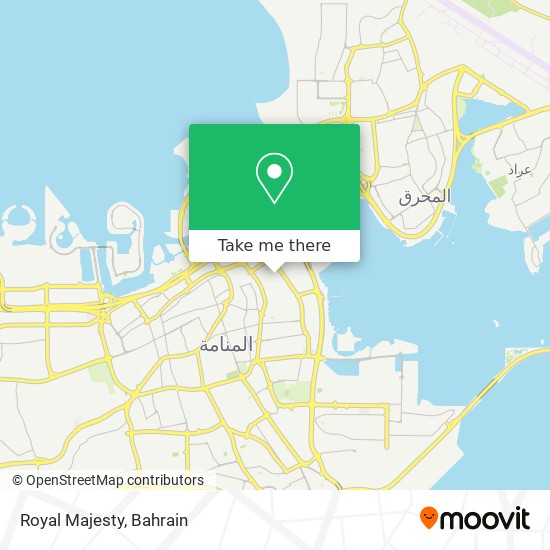 Royal Majesty map