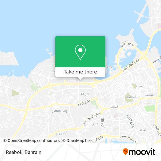 Reebok map