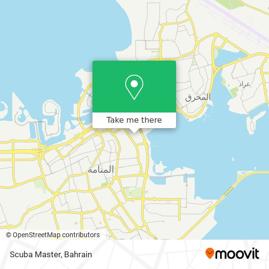 Scuba Master map