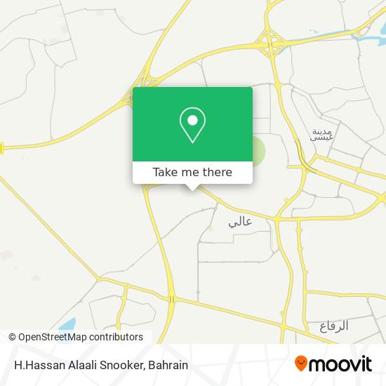 H.Hassan Alaali Snooker map
