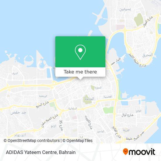 ADIDAS Yateem Centre map