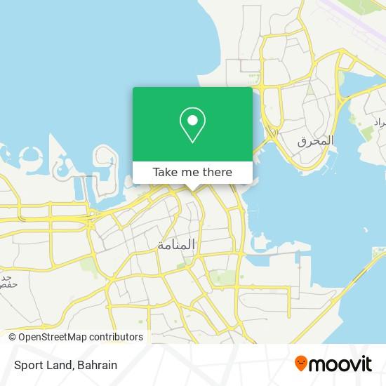 Sport Land map