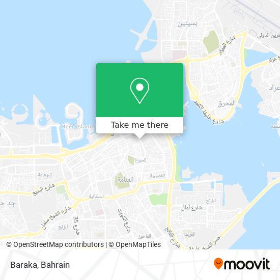 Baraka map