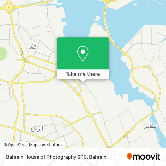 Bahrain House of Photography SPC map