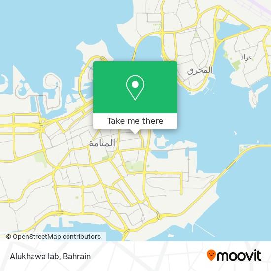 Alukhawa lab map