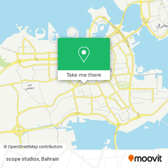 scope studios map
