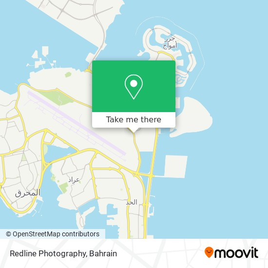 Redline Photography map