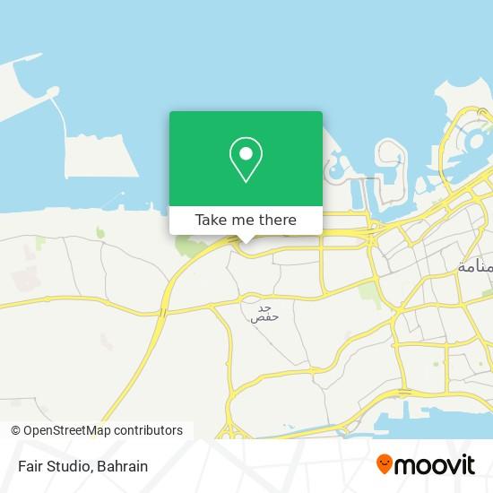 Fair Studio map