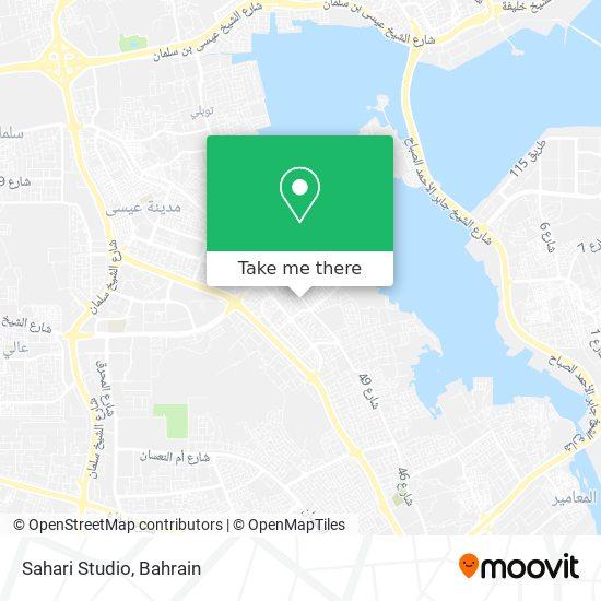 Sahari Studio map