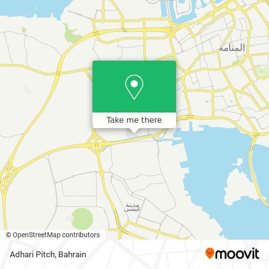 Adhari Pitch map