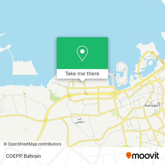 COEPP map