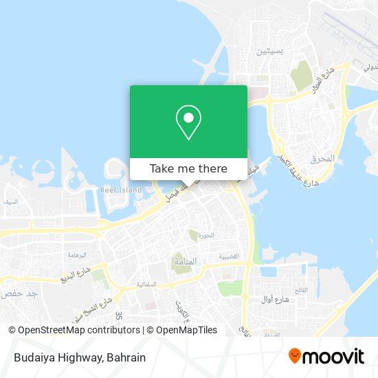 Budaiya Highway map