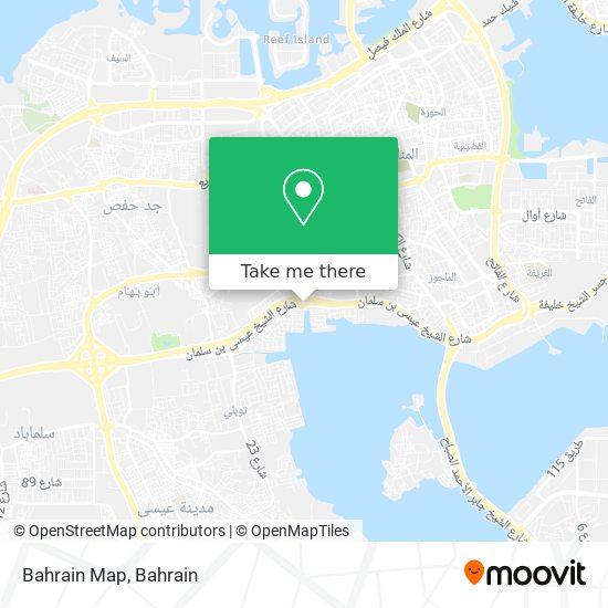 Bahrain Map map
