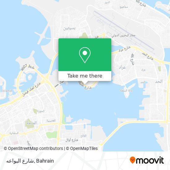 شارع اليواعه map