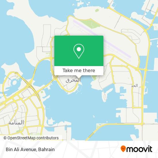 Bin Ali Avenue map