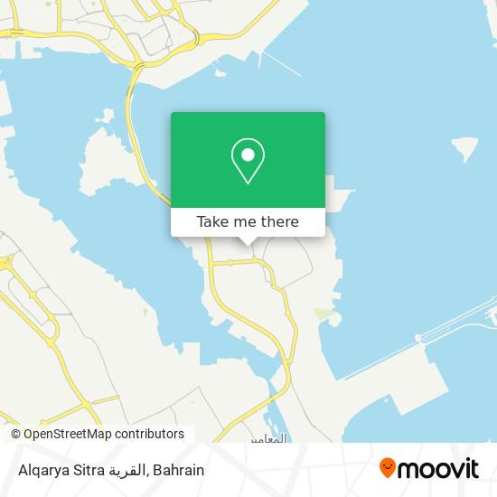 Alqarya Sitra القرية map