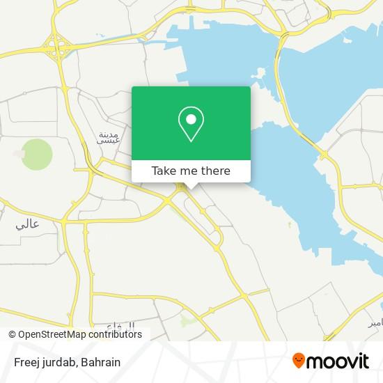 Freej jurdab map