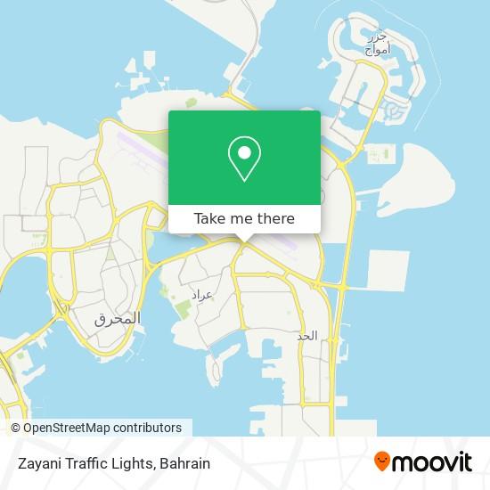 Zayani Traffic Lights map
