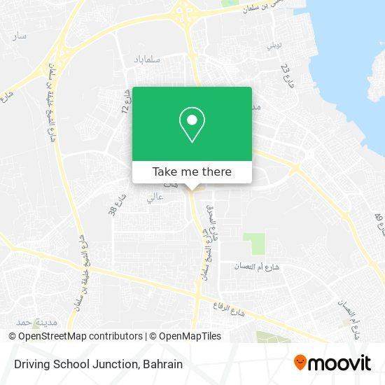 Driving School Junction map