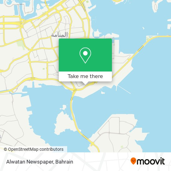 Alwatan Newspaper map